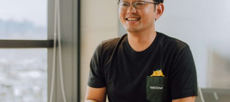 NextDrive 產品總監小長井教宏(Credit:TechOrange 科技報橘,攝影師:劉庭宏)